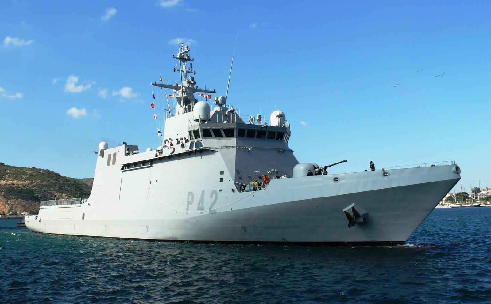 Испанский патрульный корабль вошел в Черное море
