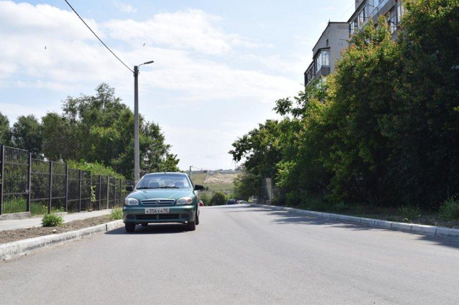 В Севастополе завершен ремонт улицы Генерала Лебедя