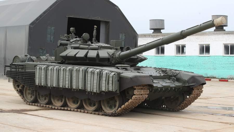 Оборону Крыма усилили сверхзащищенными танками