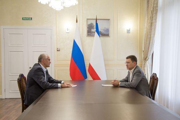 Догазификация Крыма обойдется в 7,4 млрд рублей – Аксенов на совещании с Новаком