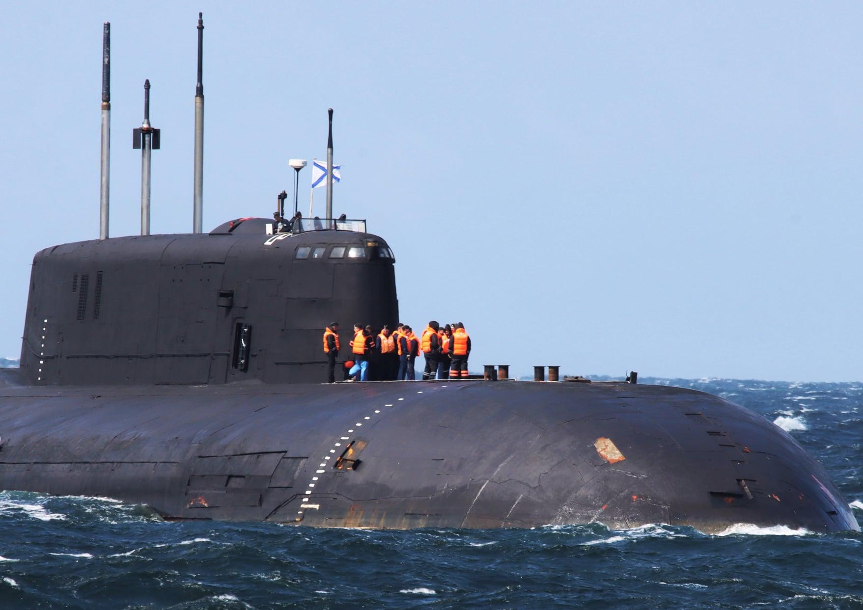 У берегов Дании временно потеряла ход российская подводная лодка