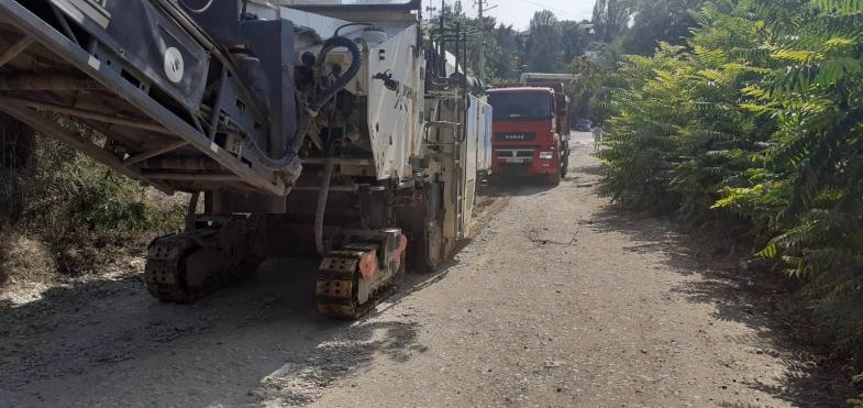 В Севастополе начался ремонт 700 метров улицы Народных Ополченцев