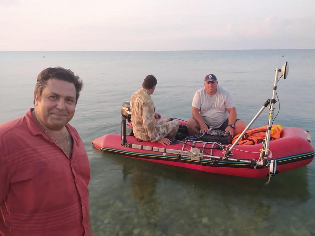 Ученые СевГУ и Института востоковедения РАН погружались в прибрежное море Абхазии