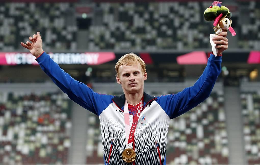 Российский прыгун в длину взял «золото» Паралимпиады в Токио