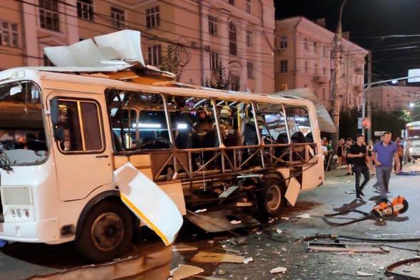 Дело о взрыве в автобусе в Воронеже передано в центральный аппарат Следкома