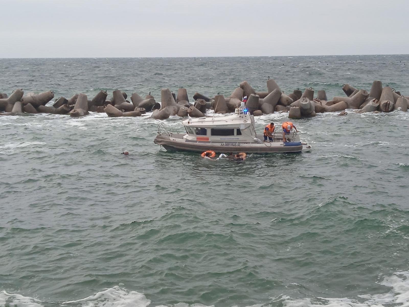 На рейде Севастополя затонул прогулочный катер