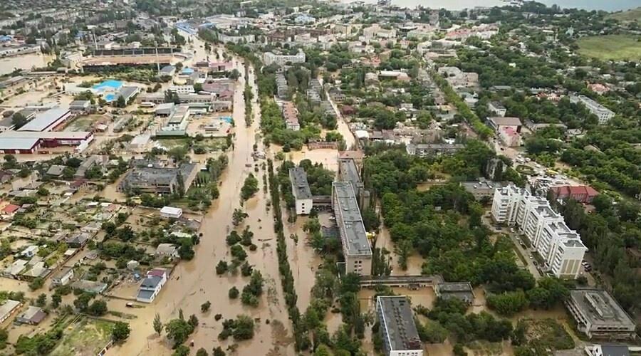 Наводнениям в Крыму присвоили статус ЧС федерального масштаба