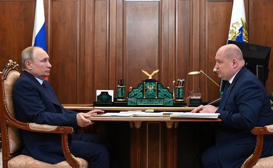 Развожаев рассказал Путину как похорошел Севастополь за два года