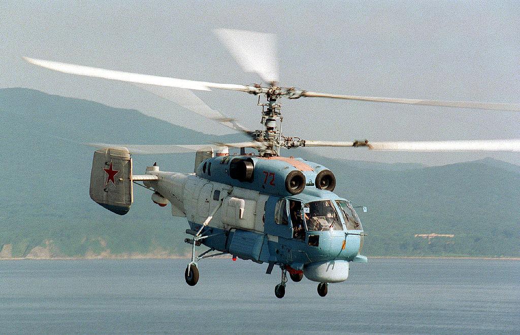 На Камчатке упал вертолет Ка-27, принадлежащий ФСБ