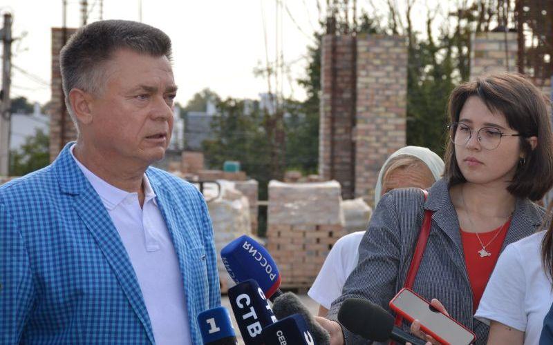 В Севастополе освятили возведение храма Всех Святых в земле Русской просиявших