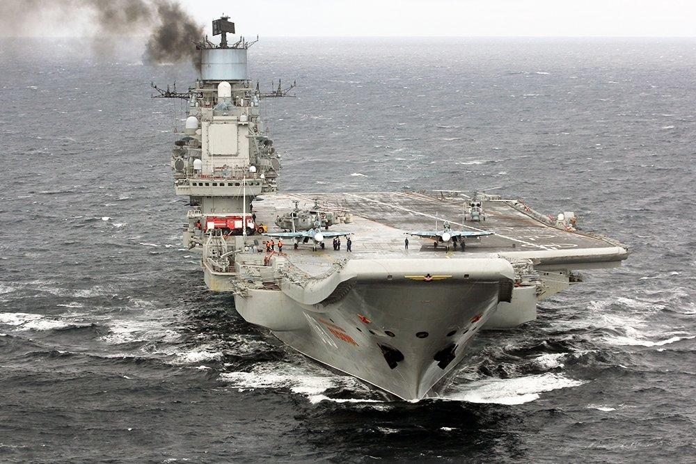 Ремонт авианосца «Адмирал Кузнецов» будет продлен на год из-за замены турбин