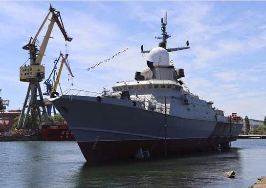 В Крыму спустят на воду новый ракетный корабль «Аскольд»