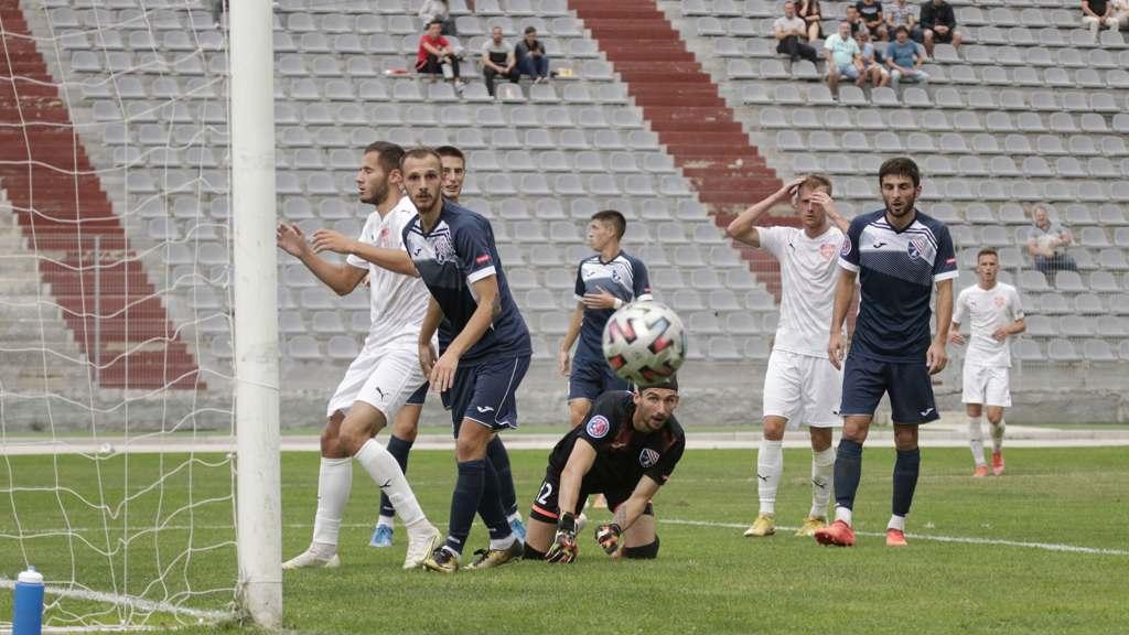 Футбольный клуб «Севастополь» сенсационно проиграл на своем поле
