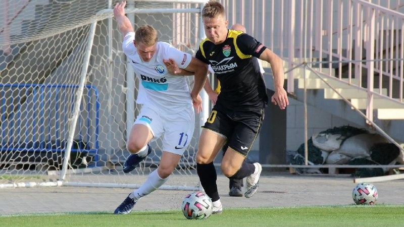 Состоялись первые четвертьфинальные матчи футбольного Кубка Крыма
