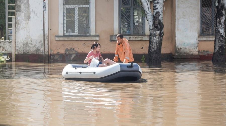 Власти Крыма выделили более 30 млн рублей для пострадавших от последнего потопа