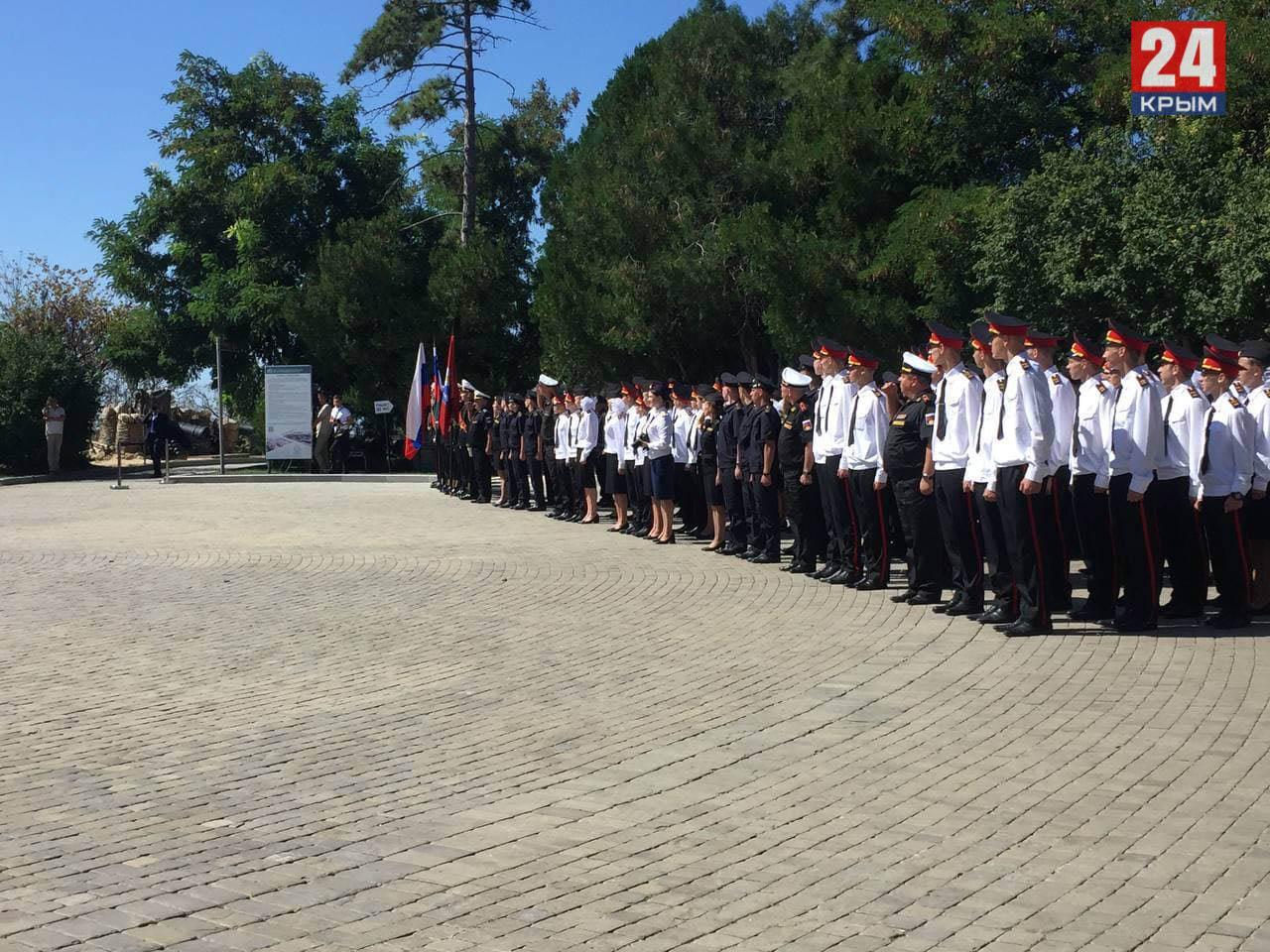 В Севастополе открыли кадетский корпус Следственного комитета