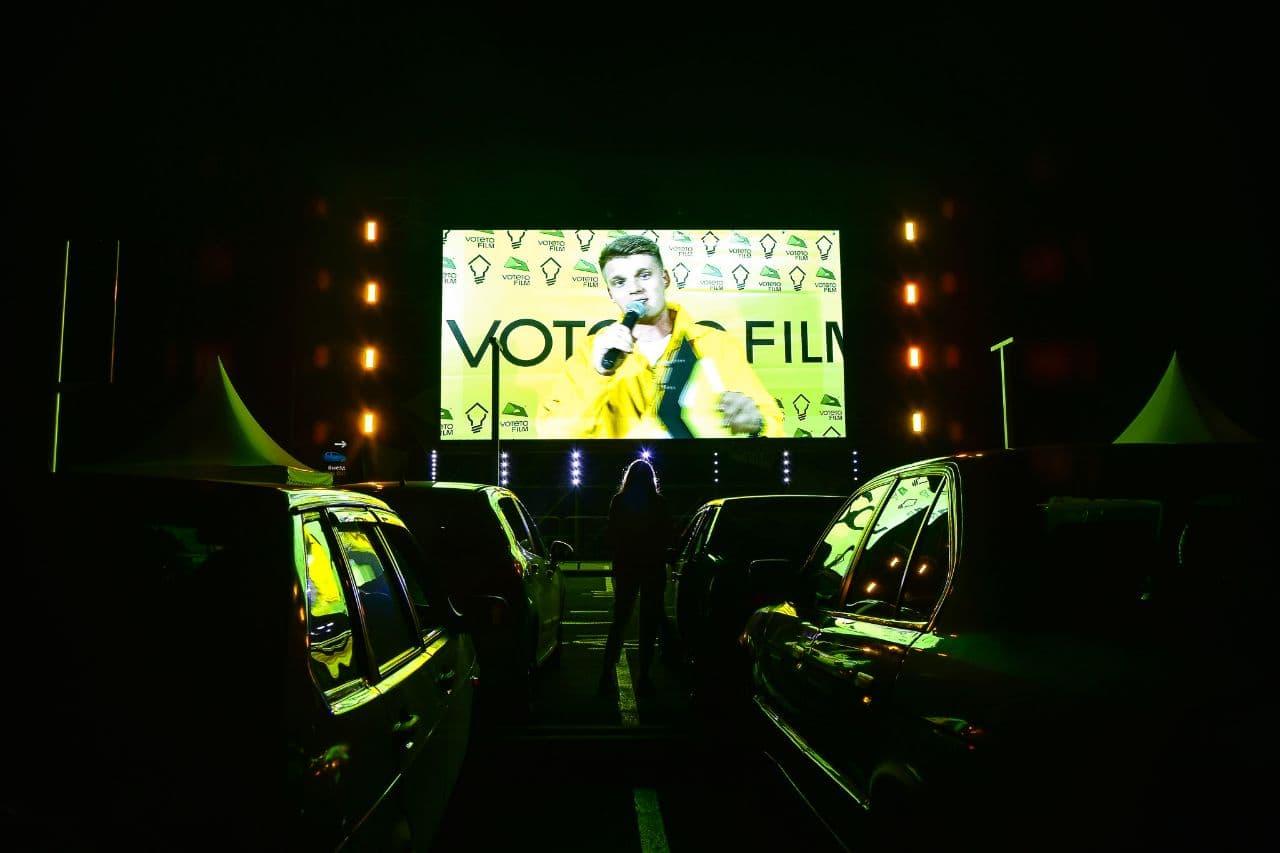 В аэропорту Симферополь можно будет посмотреть фильмы из автомобилей и проголосовать за них светом фар