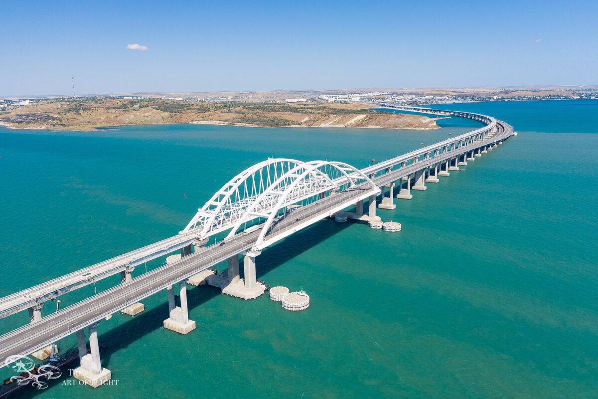 За лето 2021 года по Крымскому мосту проехало более 2 млн автомобилей