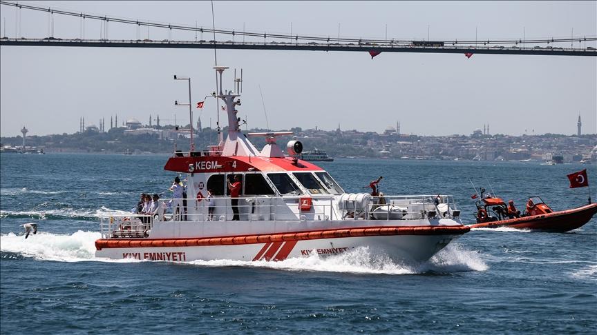 В проливе Босфор столкнулись сухогрузы под флагами Турции и России