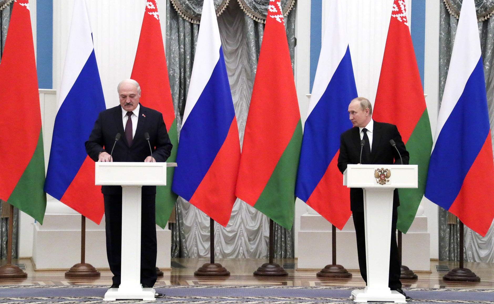 Путин и Лукашенко договорились в Москве о цене на газ и общем энергорынке