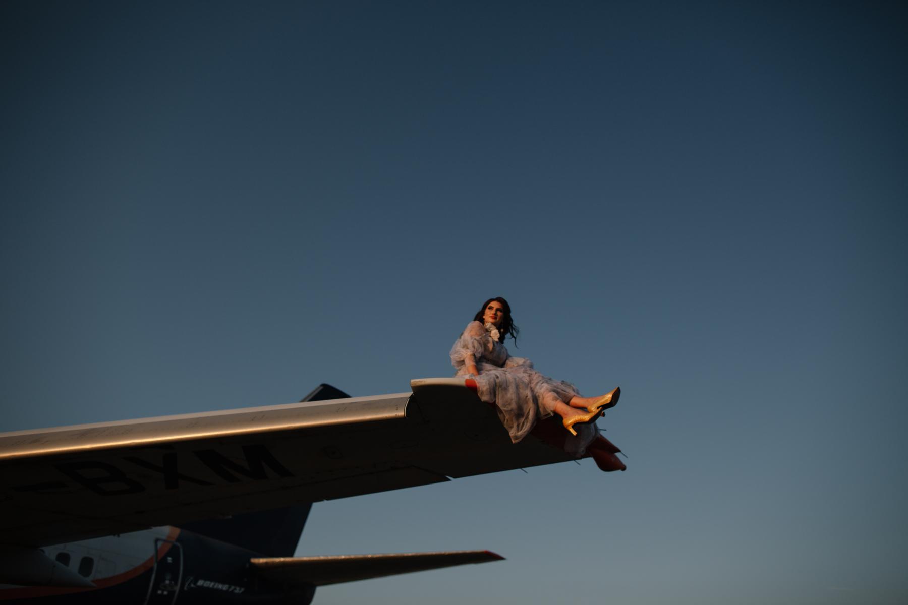 Сотрудники аэропорта Симферополь стали участниками фотосессии для модного журнала