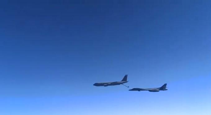 Истребители Черноморского флота сопроводили над Черным морем бомбардировщики США