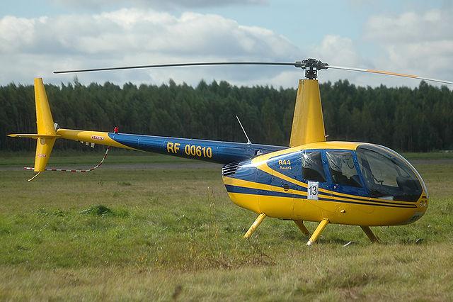 В Подмосковье упал вертолет, выполнявший учебный полет