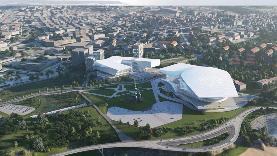 В Севастополе представлен проект музейного комплекса на мысе Хрустальный (фото)