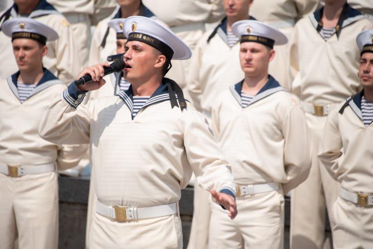 В Севастополе отметили день рождения гимна города