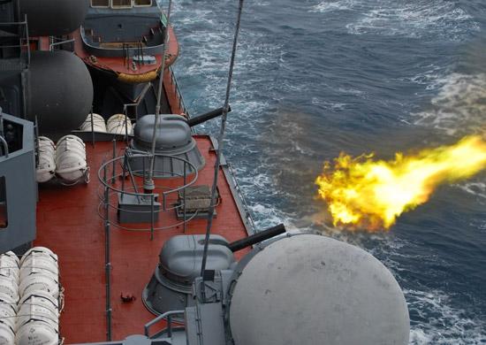 Корабли Черноморского флота провели ряд учений в Черном море