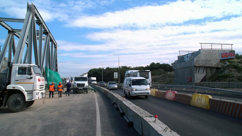 В Севастополе на сутки перекроют Камышовое шоссе