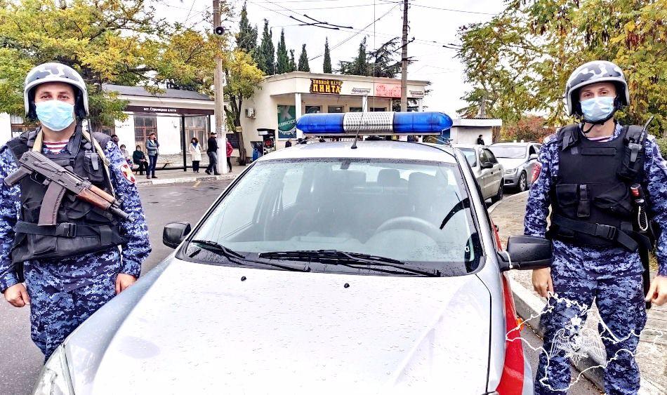 В Севастополе сотрудники Росгвардии задержали магазинного вора