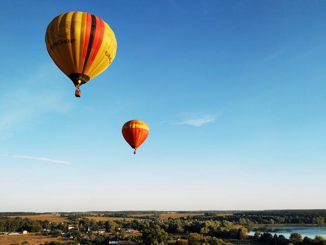 Воздушный шар с пассажирами упал в Черное море (видео)