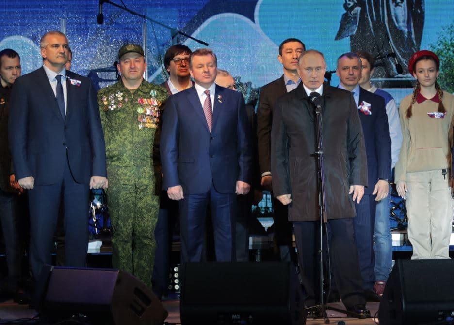 «Автор и архитектор успехов Крыма»: Аксенов поздравил Путина с Днем рождения