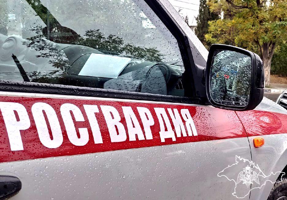 Росгвардия задержала крымчанина за дебош на заправке